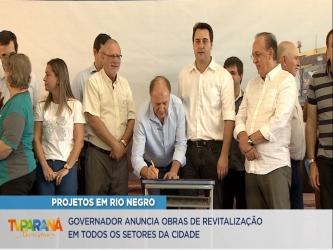 Governador inaugura nova escola em Rio Negro