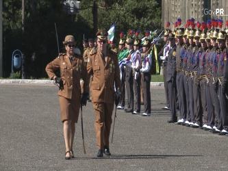 Polícia Militar do Paraná tem a primeira comandante mulher da história da coorporação