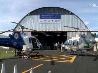 Mais 57 cidades contam com helicóptero para atendimento médico
