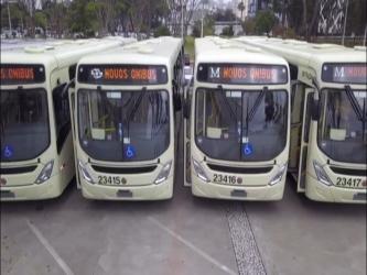 Transporte coletivo na RMC ganha agilidade com mais 17 novos ônibus