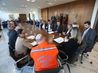 Estado vai dar todo apoio a municípios afetados pela crise