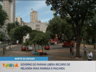 Maringá e Paiçandu recebem investimentos em infraestrutura