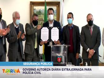 Governador autoriza diária extrajornada voluntária para Polícia Civil