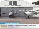 Aeronaves e caminhões vão distribuir a vacina contra a COVID-19 no Paraná