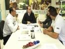 Representantes da Federação Paranaense de Culturismo se encontram com Gurgacz.