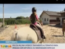 Regimento da Cavalaria Montada realiza atendimentos de Equoterapia