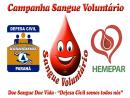 Campanha Sangue Voluntário