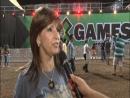 Yara Eisenbach da Copel e Evandro Roman cumprem agenda no X-GAMES