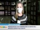 Paraná divulga 2.605 novas confirmações da Covid-19 e 59 mortes
