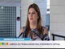 Atendimento da agência do trabalhador em Curitiba começa a ser virtual durante o período de isolamento social.