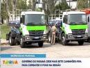 Paraná cede caminhões-pipa para combater incêndios no Pantanal