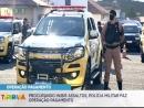 Procurando inibir assaltos, Polícia Militar faz operação pagamento para inibir assaltos