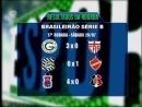 É-Esporte domingo - bloco2 - 30/7 - Tabela