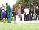 Secretaria do Esporte e do Turismo inaugura campo de golfe crianças especiais.