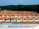 Governo do Paraná entrega 49 casas populares no município de Teixeira Soares