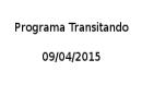 Entrevista ao programa Transitando