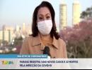 Paraná confirma mais 1.840 casos e 22 mortes pelo novo coronavírus