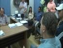 Autoridades de Nova Aurora no oeste paranaense recebem o secretário do Esporte do Paraná