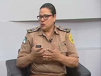 Cel. Audilene Rocha - Comandante Geral da PM-PR - 12/05