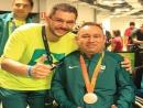 Medalhista Marcelo Santos chega a Curitiba