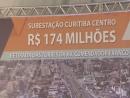 Investimentos da Copel reforçam rede elétrica de Curitiba