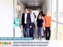 Governador Carlos Massa Ratinho Junior visita Laboratório Central do Estado - Lacen