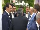 Governador destaca importância dos Portos do Paraná em feira internacional