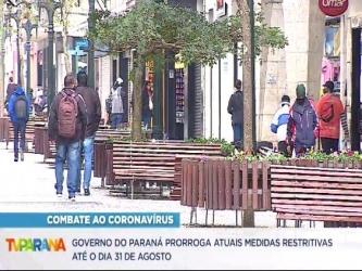 Estado prorroga atuais medidas restritivas contra a Covid-19 até 31 de agosto