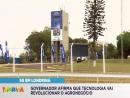 Em Londrina, governador afirma que tecnologia 5G vai revolucionar o agronegócio
